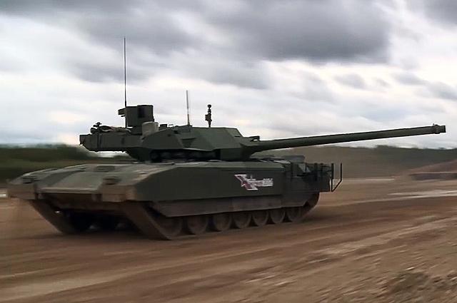 Демонстрация танка Т-14