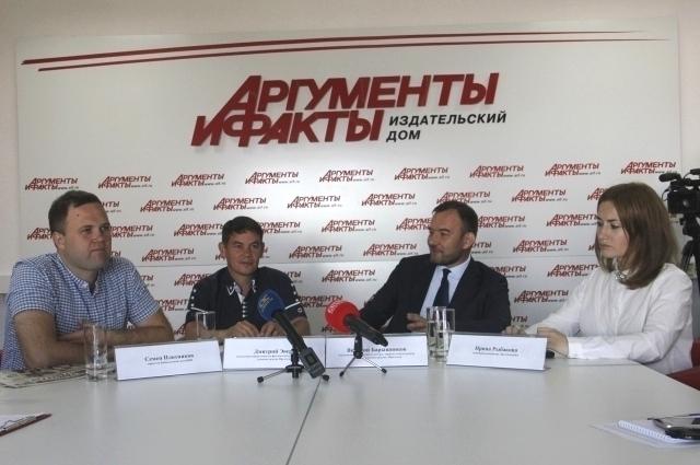 Семен Плотников, Дмитрий Эверт, Виталий Барышников и Ирина Рыбакова.