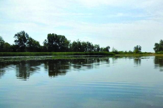 Свое озеро жители Буранного называют жемчужиной.