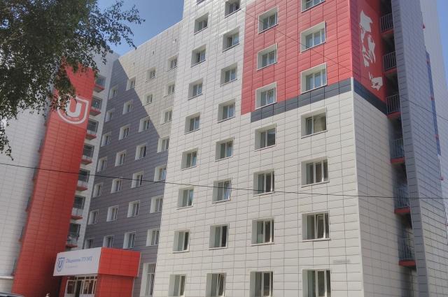 Студенческие общежития в Томске занимают целые микрорайоны.