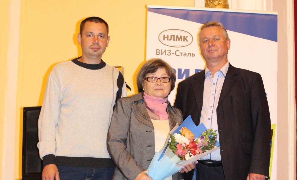Полевов Сергей, Полевова Любовь, Полевов Николай (слева направо).