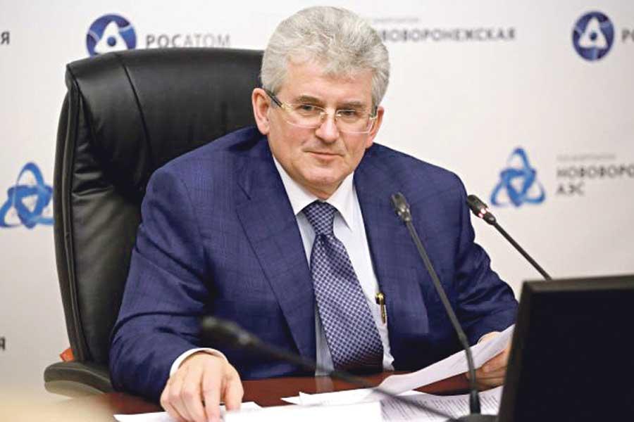 Владимир Поваров: «Этап физического пуска инновационного энергоблока может начаться в этом году».