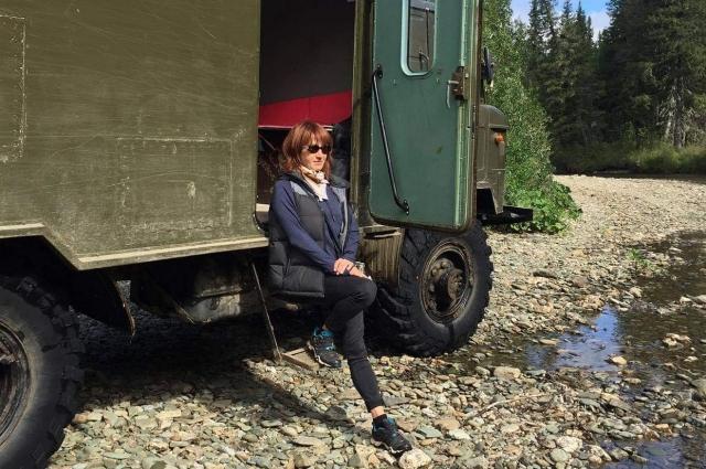 Татьяна Татаринова отправилась в экспедицию вместе с сотрудниками заповедника.