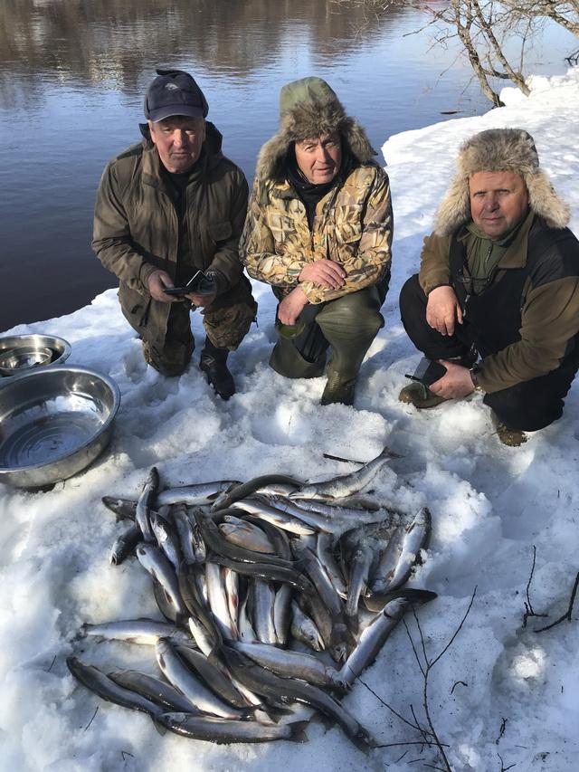 Река Большая, рыбалка, голец