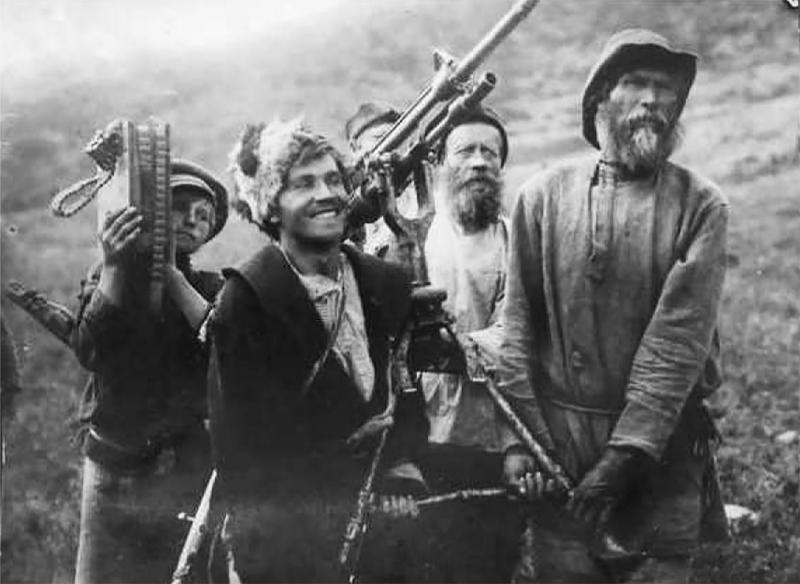 Кадр из фильма «Красный газ» (1924 год)
