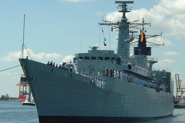 Фрегат УРО Регина Мария ВМС Румынии