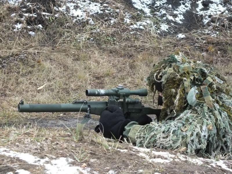 Снайпер Дима работает незаметно, но эффективно