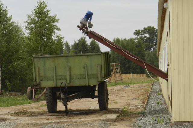 Оборудование на ферме у Клепцова совсем новое.