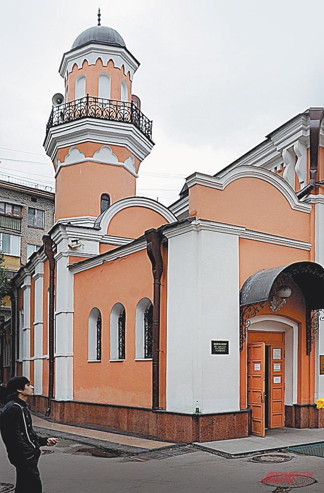 Историческая мечеть Москвы на Большой Татарской, д. 28.