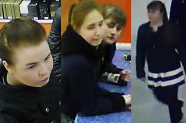 По подозрению разыскиваются три девушки.