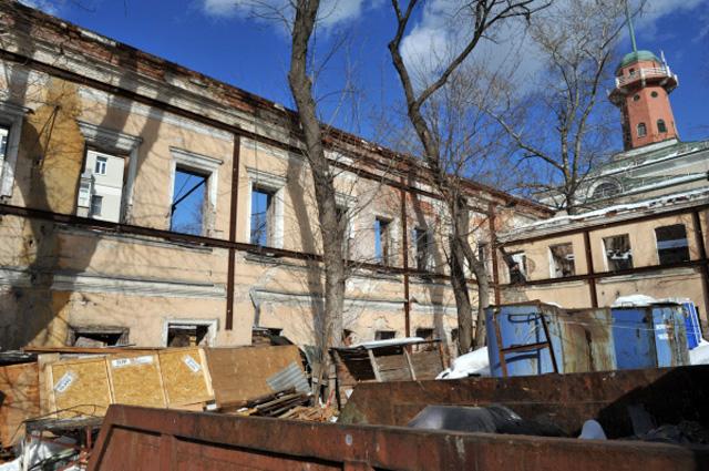 Жилой дом Н. П. Баулина (Николоямская улица, 52, стр. 1), построенный по проекту архитектора Струкова на основе палат XVIII в