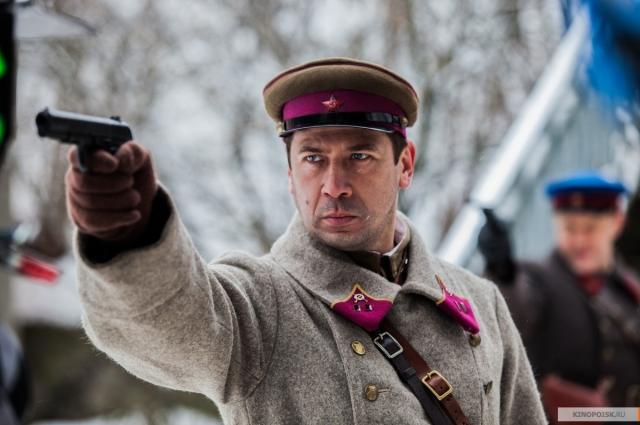 Андрей Мерзликин в роли коменданта Калинина.