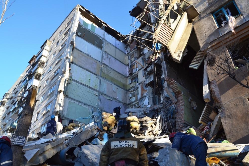 Взрыв прогремел в 6 часов утра 31 декабря 2018 года.