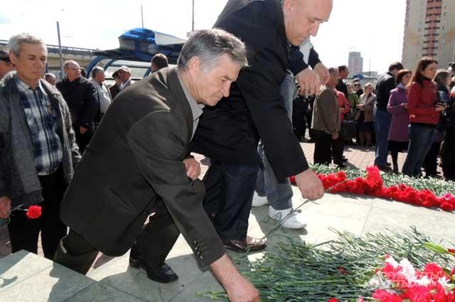 26 апреля в Казани чернобыльцы встречаются, чтобы вспомнить погибших товарищей