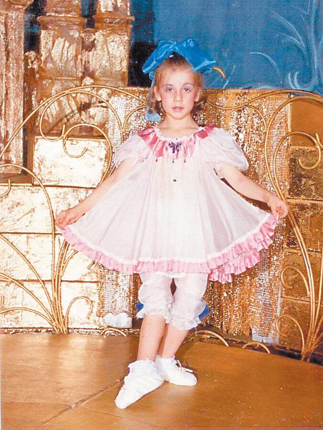 Софья Гайдукова танцевала насцене стрёх лет.