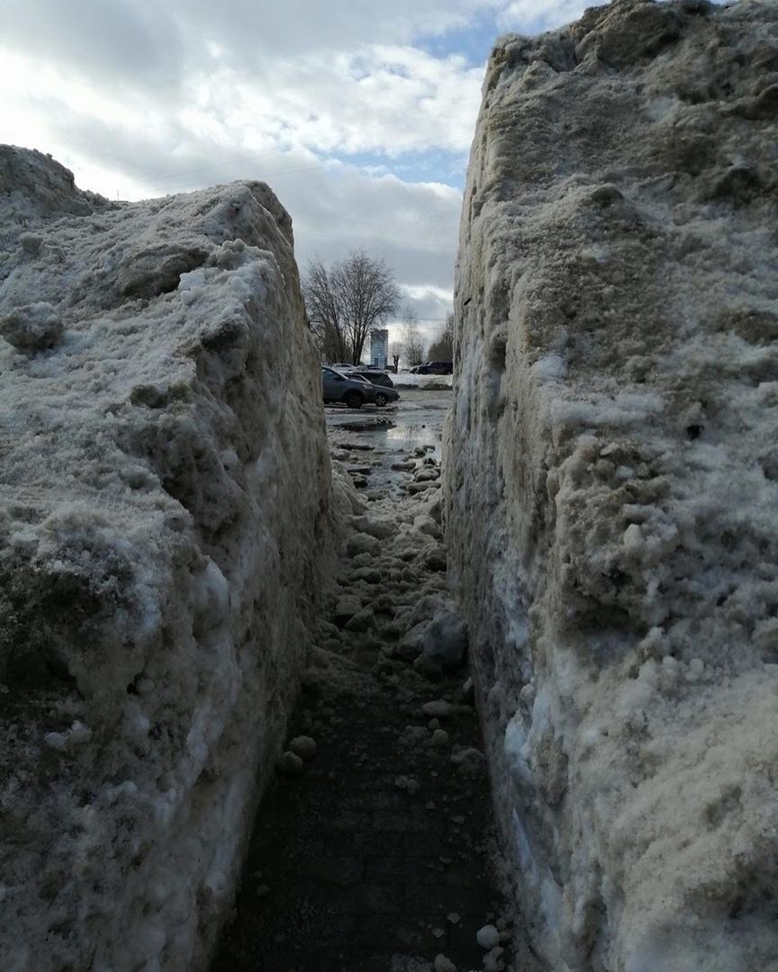 Снежный тоннель