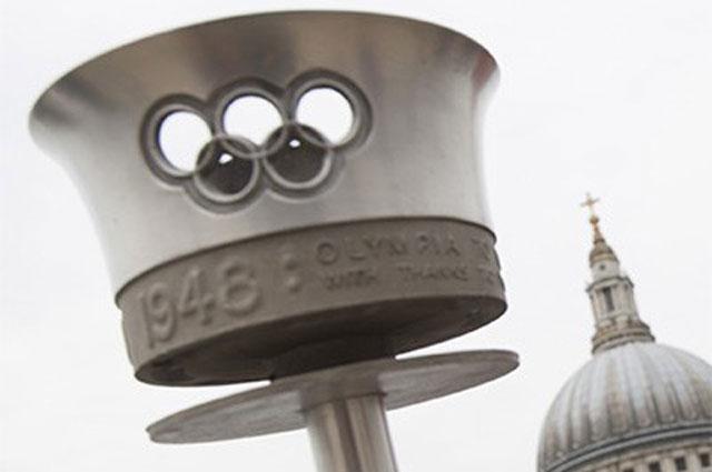 Факел первой Олимпиады в Лондоне 1948 года