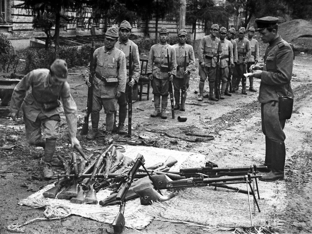 Маньчжурская операция. Капитуляция войск Квантунской армии. 20 августа 1945 г.
