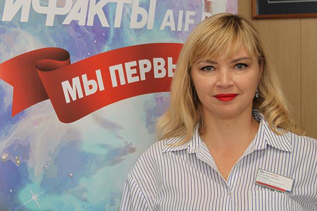 Елена Назырова руководитель по ипотечному направлению «Уфимский» АО «АБ «РОССИЯ»