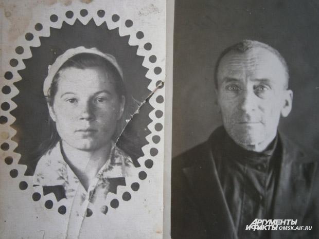 Надежда Полуаршинова и её отец