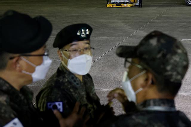 Южнокорейские военные.