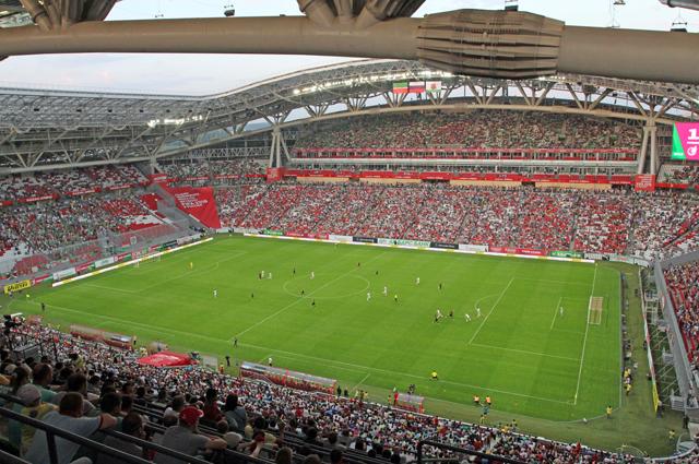 Стадион в Казани полностью готов к чемпионату.