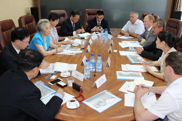 Китайская делегация в Пензе.
