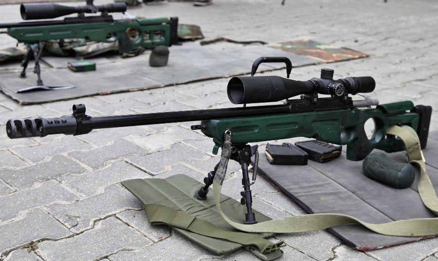 СВ-98 на соревнованиях по снайпингу
