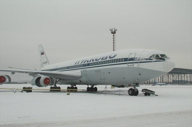 Самолет Ил-86 за семь месяцев до трагедии.