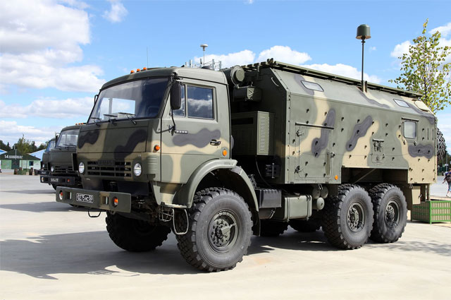 Комплекс РЭБ РБ-341В Леер-3.