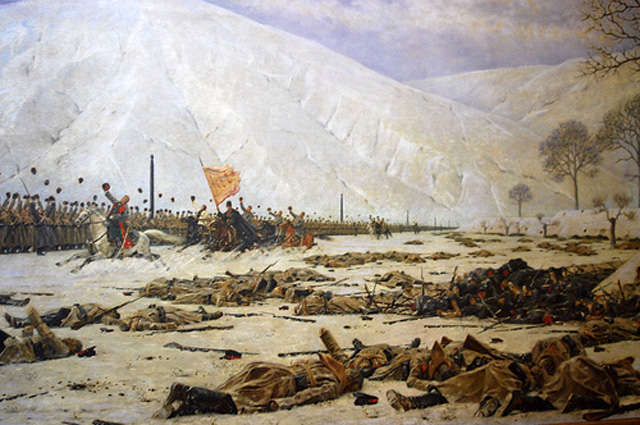«Шипка-Шейново. Скобелев под Шипкой». Верещагин В. В. 1883 г.