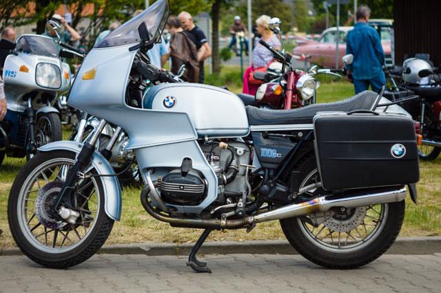 BMW R100RS.