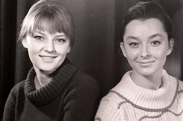 Марианна и Анастасия Вертинские.