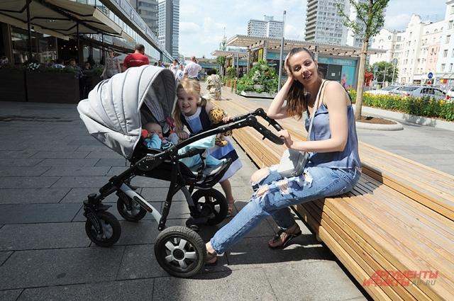 Ольга Маркова: «Такие съезды для колясок, как в центре, обрадуют любую маму».
