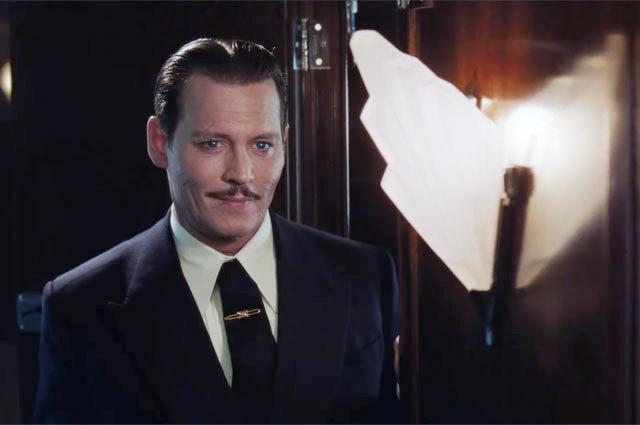 Джонни Депп в роли Эдварда Рэтчетта.