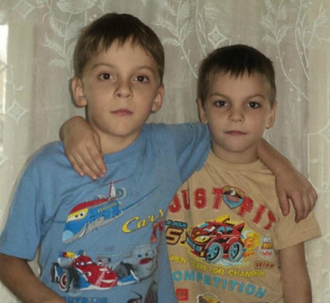 Денис и Андрей Любимовы.