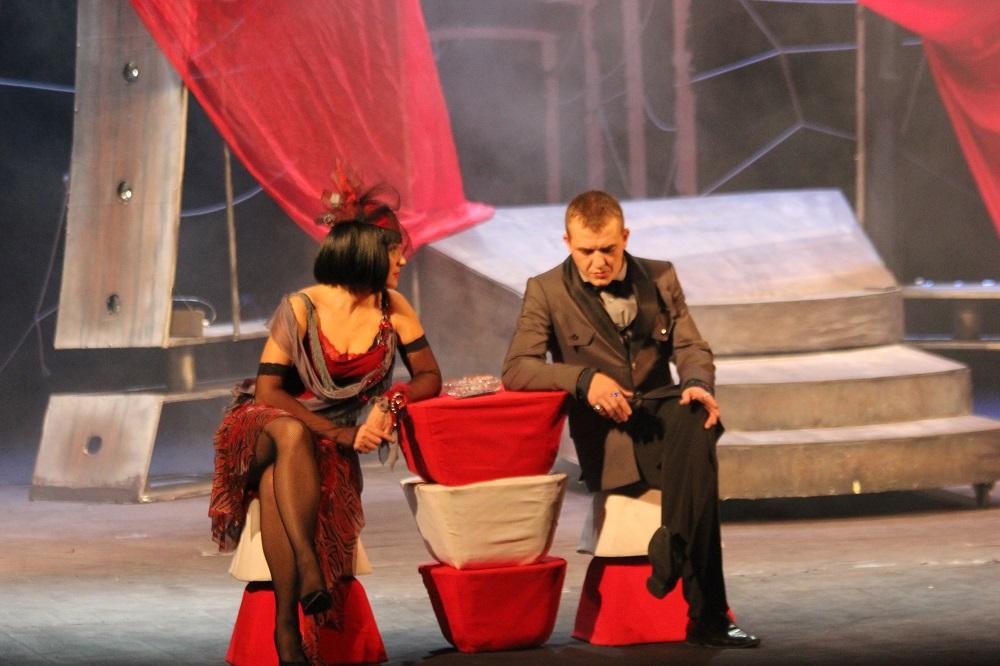 Спектакль «Зойкина квартира» по пьесе Михаила Булгакова