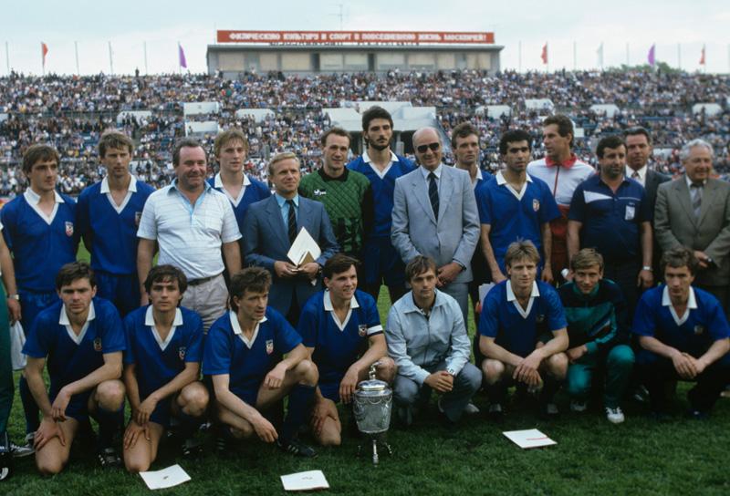 ФК «Металлист», завоевавшая Кубок СССР пофутболу, 1988 г.