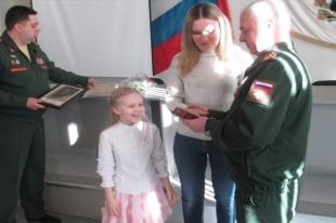 Елена и Ева Рожковы на вручении