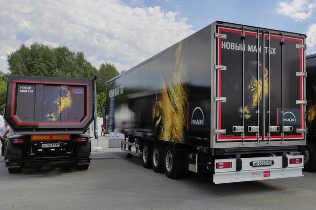 Специалисты компании превращают любой грузовик MAN в персональный.
