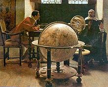 Тито Лесси. Галилей и Вивиани. Музей истории науки, Флоренция