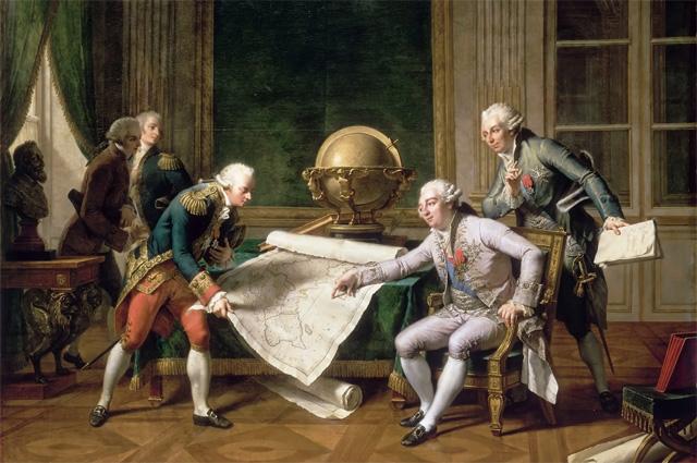 Людовик XVI дает инструкции Лаперузу 29 мая 1785 года