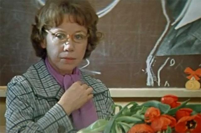 Евгения Ханаева в фильме «Розыгрыш», 1977 год