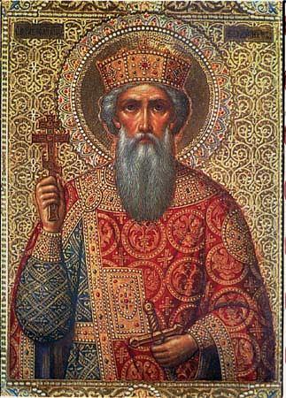 Князь Владимир Святославович.