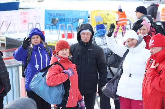 Карельские участники соревнований в Эстонии