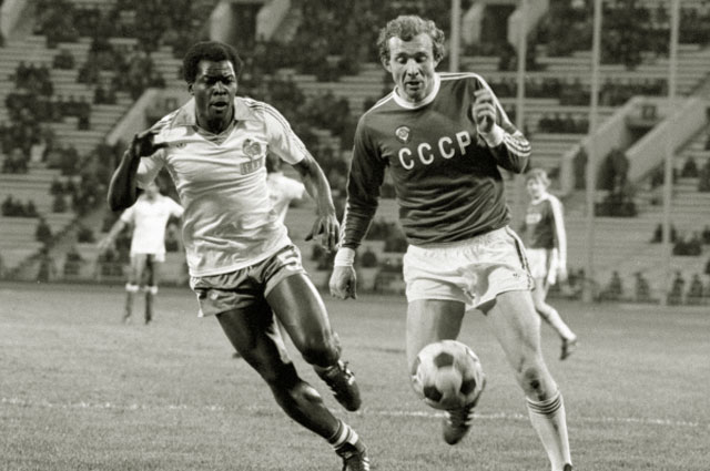 Олег Романцев. 1980 год