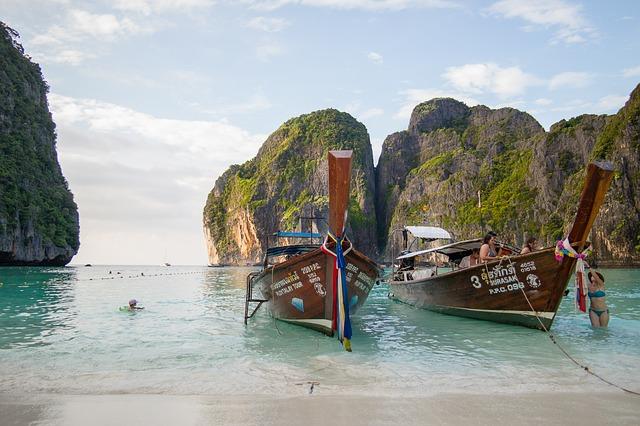 Омичи отдыхают в Таиланде с октября по май.