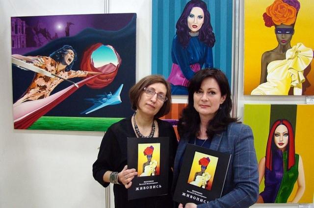 Несколько выставок живописных работ Ирины Мотыкальской прошли с огромным успехом.