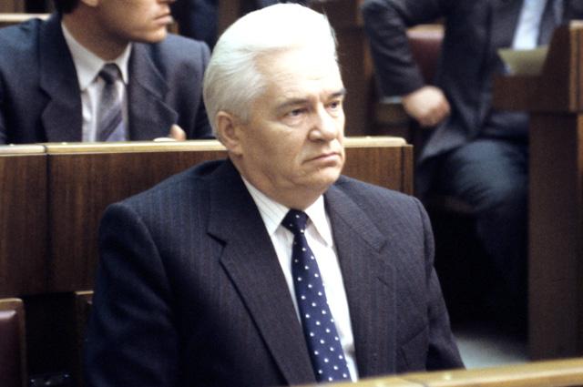 Иван Силаев. 1991 г.