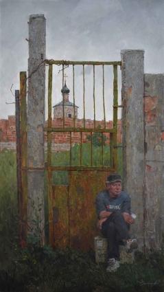 Выставка Александра Савеленко «О Ростове и не только».